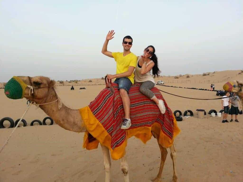 Safari no deserto em Duabi
