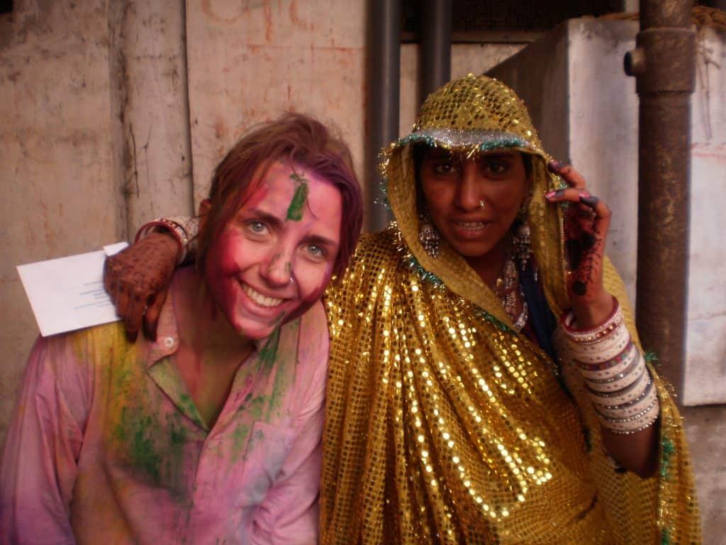 Bibiana Nilsson intercâmbio índia