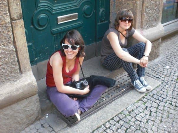 Em 2009, fiz um semestre da faculdade em Tübingen emais um monte de amigos legais :)