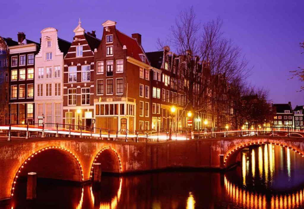 Amsterdam, na Holanda. Foto: Euro-Pós, Divulgação