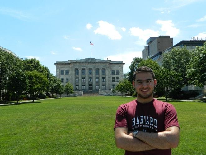 Caio Guimarães Harvard Partiu Intercâmbio