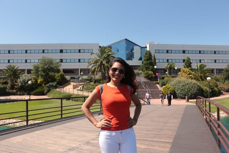 Nyrlene na Universidade em Madri