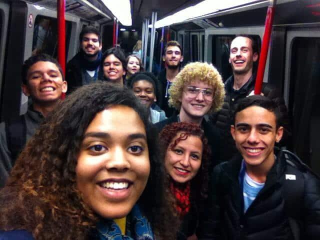 Mirian Ferreira jovens embaixadores 2015