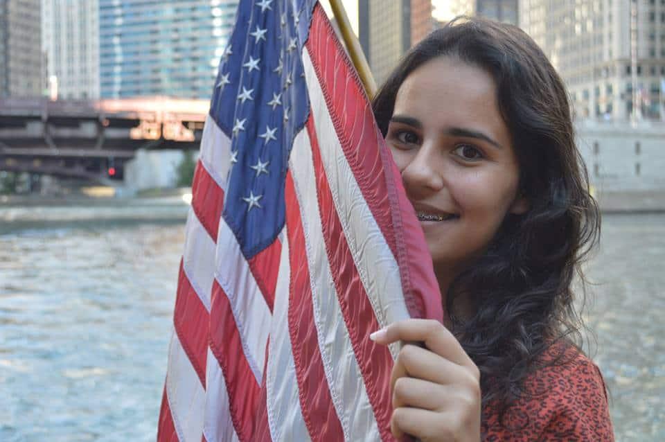 Como é estudar em uma escola nos Estados Unidos Yasmym Magnante nos Estados Unidos