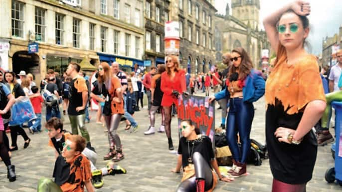 Bolsa para curso de teatro no Exterior british council escócia partiu intercambio