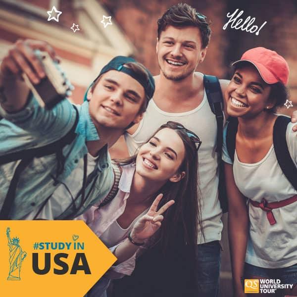 Feira online sobre graduação nos Estados Unidos
