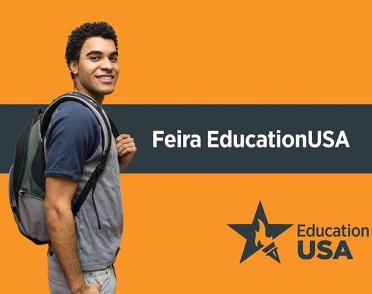 feira do EducationUSA intercâmbio nos estados unidos