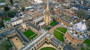 Bolsas de mestrado na Universidade de Oxford
