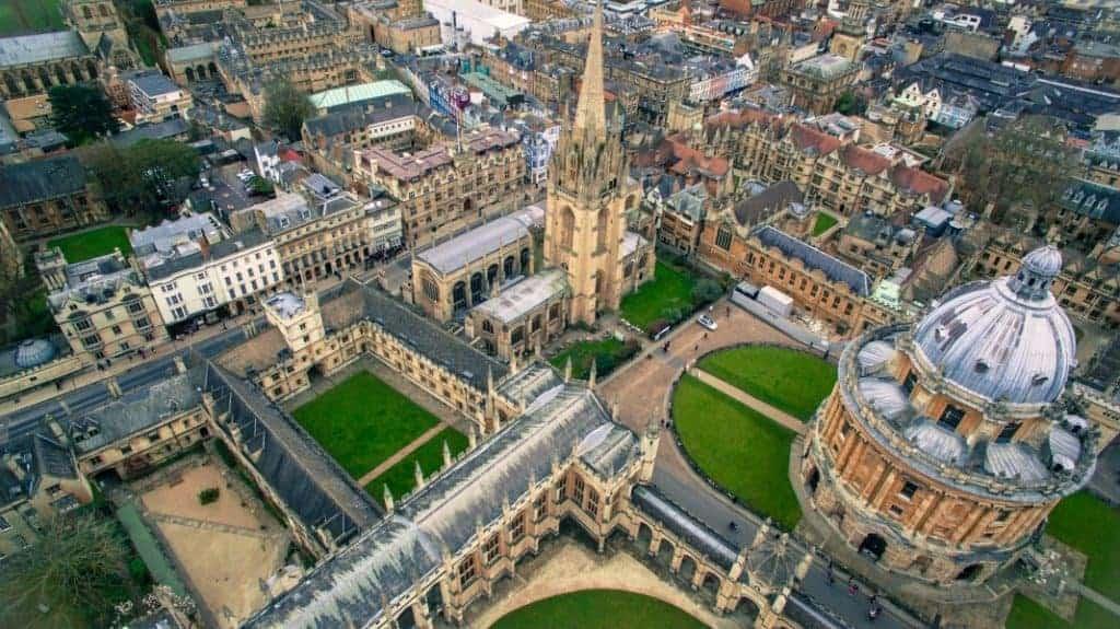 Bolsas de mestrado na Universidade de Oxford na Inglaterra