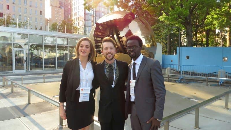 concurso de redação da ONU dicas com participantes da australia e uganda