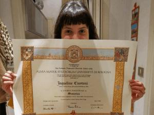 como faz para estudar na itália diploma italiano enorme jaqueline crestani