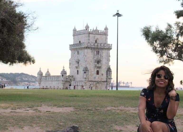 Danielle Miranda como faz para estudar em Portugal
