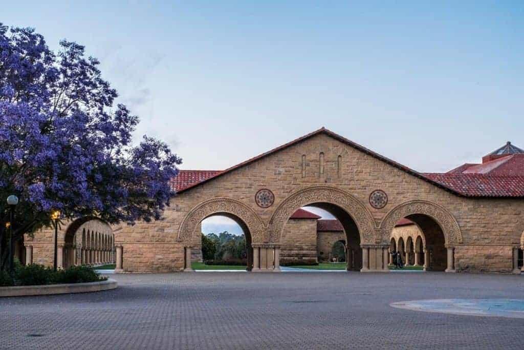 bolsas para pós-graduação nos EUA Stanford partiu intercambio