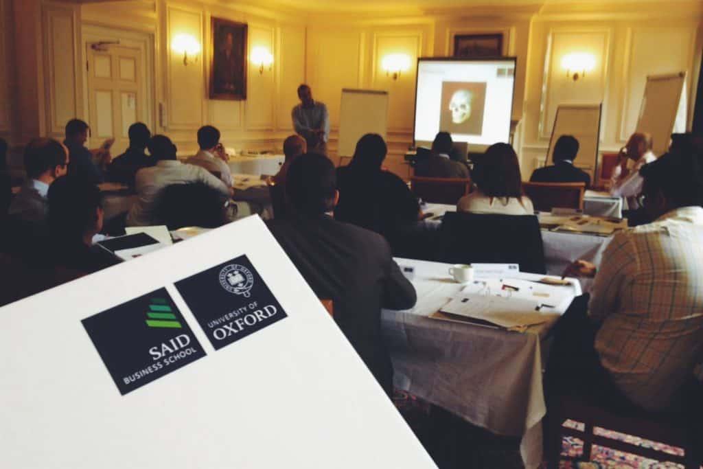 bolsa de MBA em Oxford Skoll Scholarship