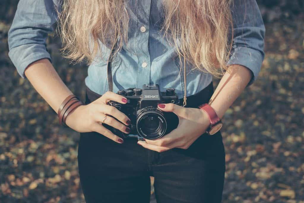 bolsas para fotógrafas mulheres