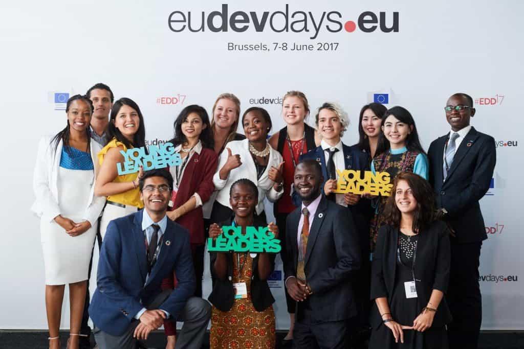 bolsa para evento na Bélgica European Development Days evento na belgica de graça partiu intercambio