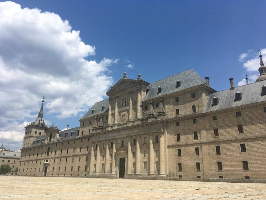 bolsa para curso de verao na espanha universidade complutense de madri Monasterio de El Escorial foto yael berman
