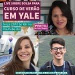Yale Young Global Scholars partiu intercambio curso de verão nos eua mariana rezende enzo ferreira Live YYGS2