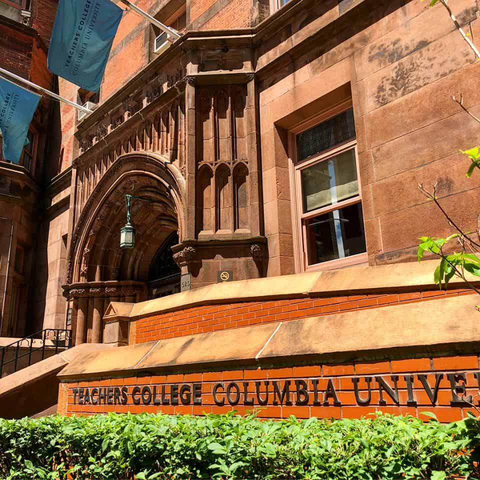 bolsa da fundação lemann teachers college EUA universidade de columbia