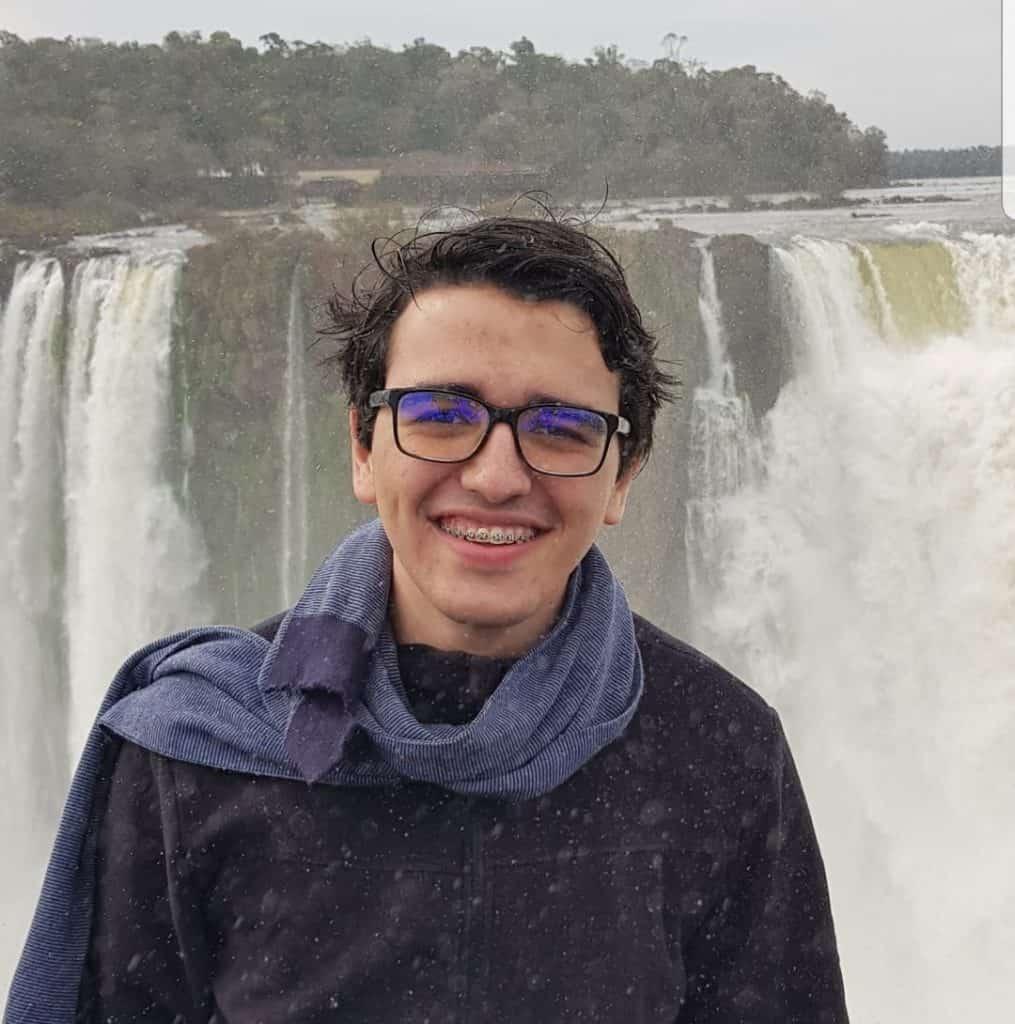 Pedro Alberto Curcio Machado partiu intercambio