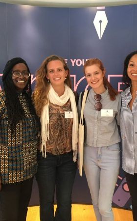 intercambio jornalismo yael partiu intercambio future news worldwide girl power