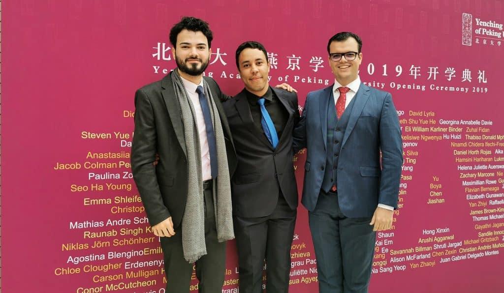 bolsa de mestrado na china Igor Patrick yenching academy peking university estudar na china