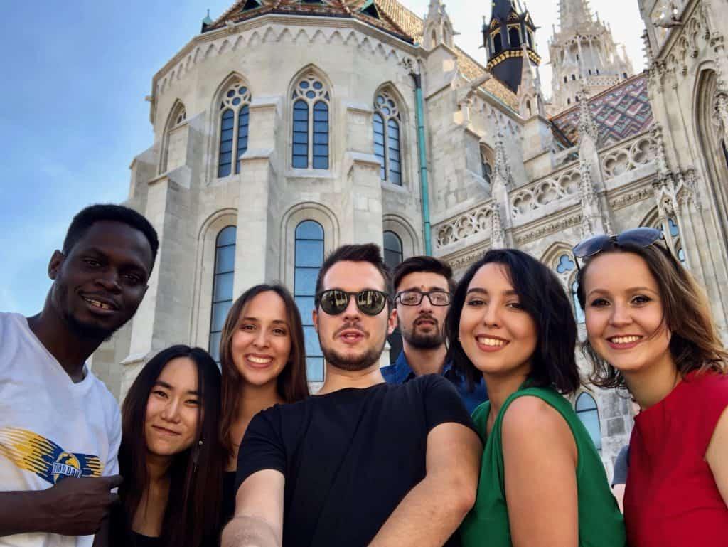 Bolsistas do programa Stipendium Hungaricum de bolsa para estudar na Hungria