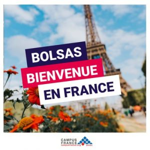 bolsas bienvenue en france campus france