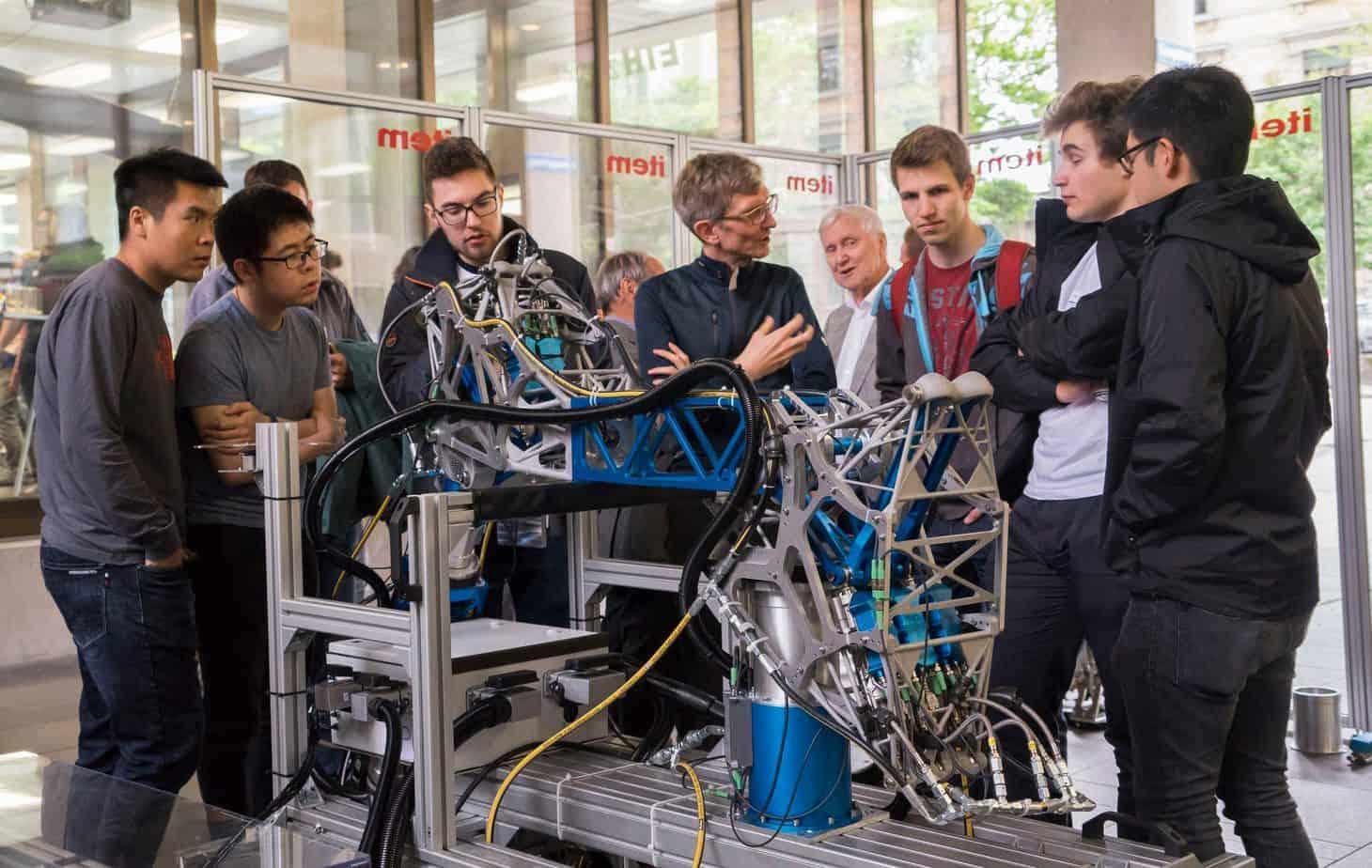 curso de robotica eth zurique